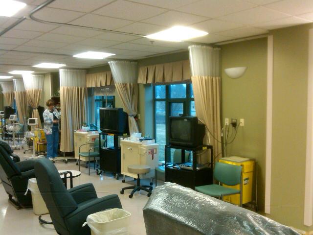 Chemotherapy Treatment Room Galbraith Pre Design