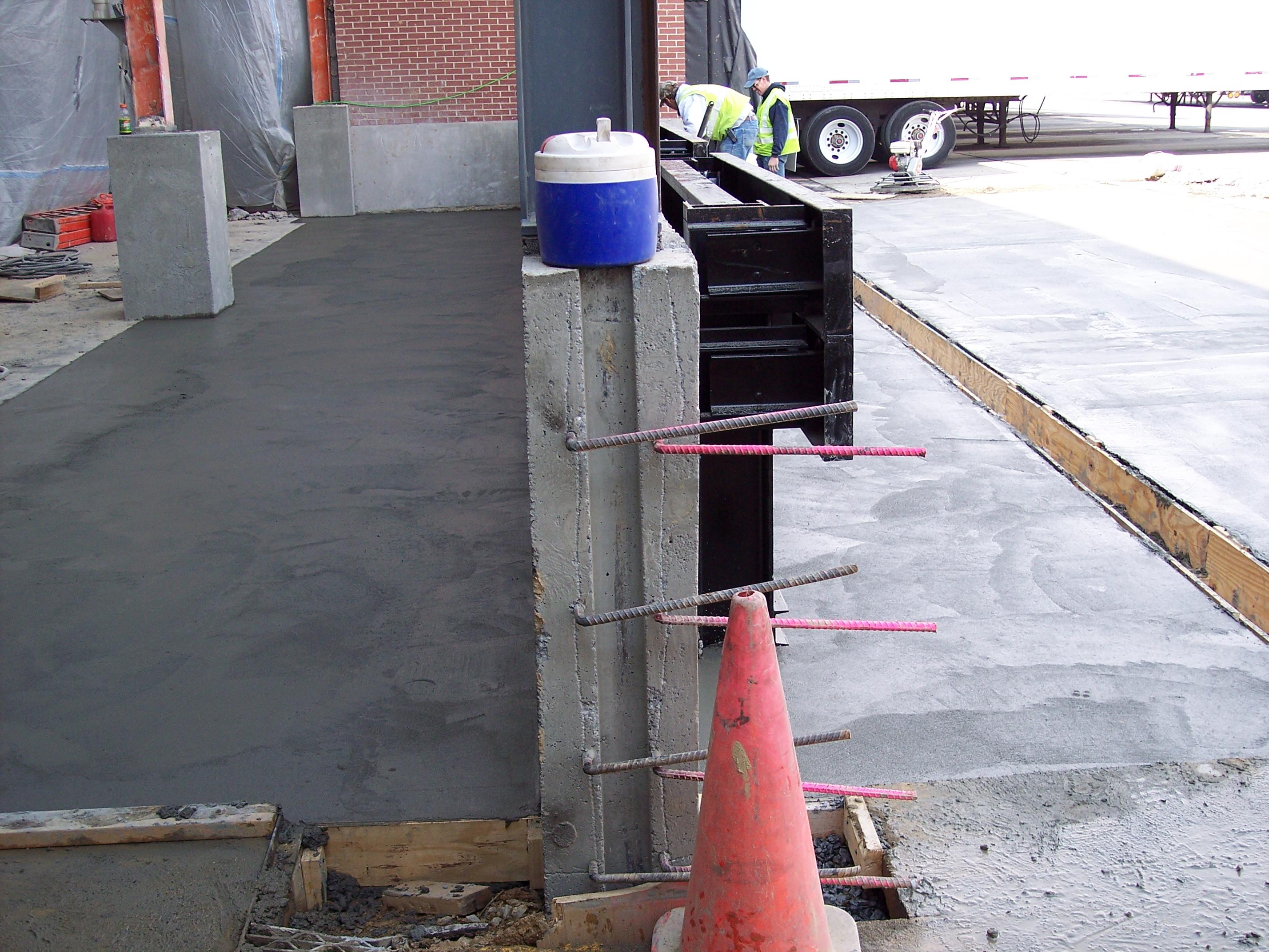 Receiving Dock Expansion United Parcel Service Ups