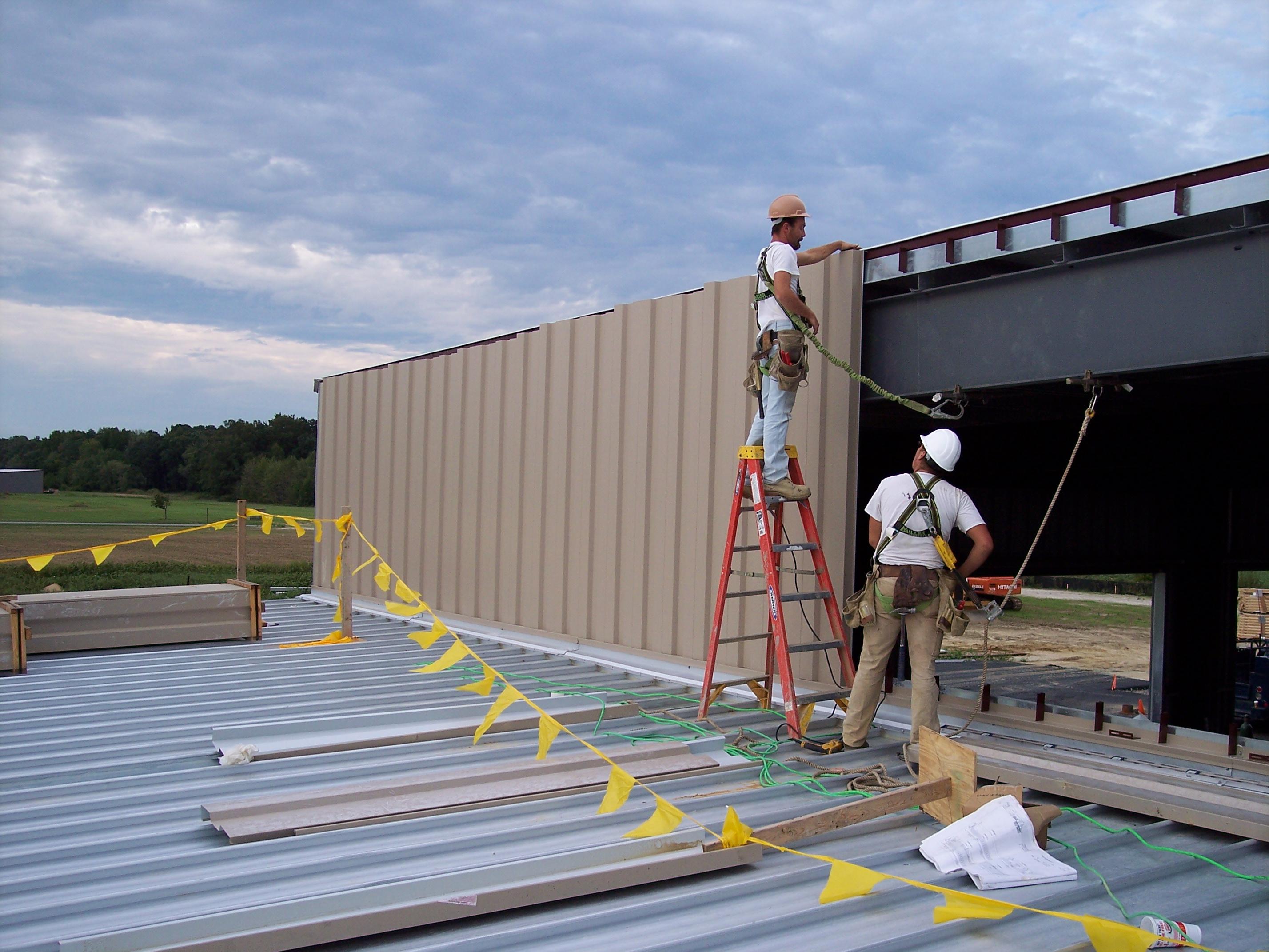 Pre Engineered Metal Building Cold Storage Maryland S