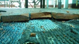 tile floor replacement