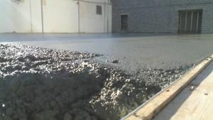 concrete floor slab