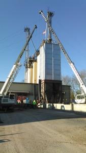 Pennsylvania Metal Building Steel Erection