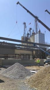 Metal Building Steel Erection