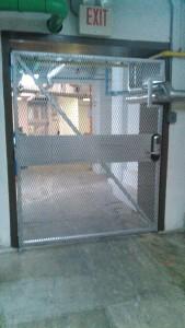 custom steel security gates