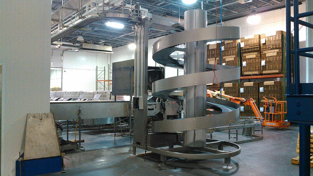 Food Processing Plant ~ Pete gerry s organic eggs galbraith pre design