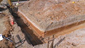 footer excavation