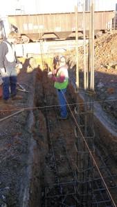 footer excavation