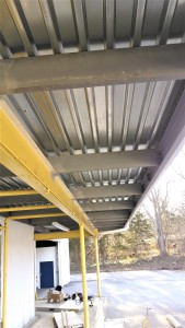 Structural Steel Canopy Amp Standing Seam Metal Roof