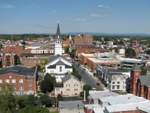 The city of Hagerstown, MD